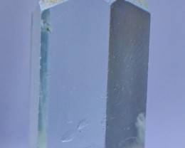 27.35 Cts Natural & Unheated Water Blue Aquamarine Crystal