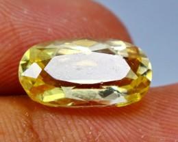 Wow4.25 CT Natural & Beautiful Golden Yellow Heliodor beryl gemstone
