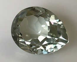 6.45ct Shimmering Classic Cut Green Amethyst  (Prasiolite) - NO RESERVE AU