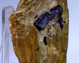 419ct Unheated ~ Natural & Superb Balck tourmaline Combine quartz speci