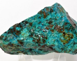 1525ct Natural Chrysocolla Mineral Rough Specimen - Peru (STCR3R-CC211)