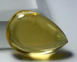 Wow~4.85 CT Natural & Beautiful Yellow Heliodor beryl Cabochons