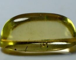Wow~4.95 CT Natural & Beautiful Yellow Heliodor beryl cabochon