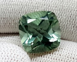 6.80CT GREEN AMETHYST PRASIOLITE GEMSTONES HEATED