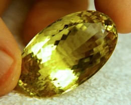 102.5 Carat VVS1 Natural African Lemon Quartz - Superb
