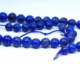 284CT Natural lapis lazuli carved beeds lot