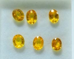 5.010 ct Natural Yellow Sapphire Lot~ Sri Lanka