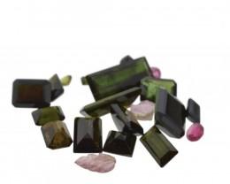 52.58 cts 33 Stones Tourmaline Parcel