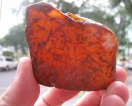 650 ct Honey-orange chalcedony