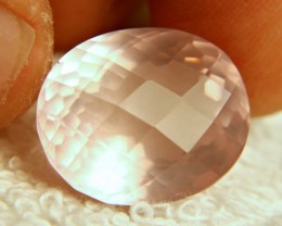 20.7 Ct. Cushion Cut Pink Rose Quartz - Gorgeous