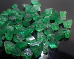 20 ct 58 Rough Colombian Emerald from Chivor Mine *Not Yet Treated*