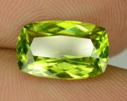 2.90 CT VVS Natural Green Peridot