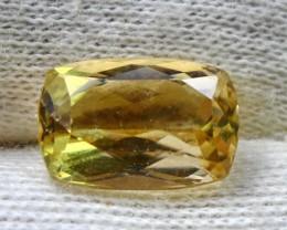 Wow4.05 CT Natural & Beautiful Golden Yellow Heliodor beryl gemston