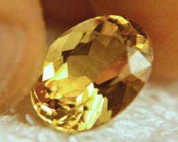 5.69 Carat VS Golden Brazil Beryl - Gorgeous