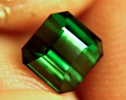 1.98 Ct. VVS Green Nigerian Tourmaline - Lovely