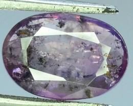 1.820 ct Rarest pink Untreated Kashmir Corundum Sapphire