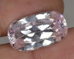 18.02 Cts Natural Light Pink Kunzite Cushion Cut Afghanistan Gem