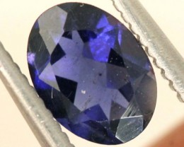 0.45CTS TANZANITE FACETED VIOLET BLUE  RNG-408