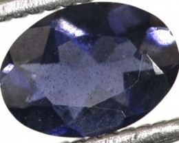 0.60CTS TANZANITE FACETED VIOLET BLUE  RNG-423