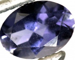 0.60CTS TANZANITE FACETED VIOLET BLUE  RNG-426