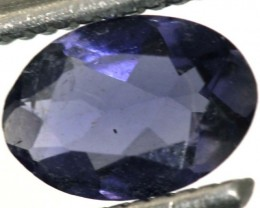 0.55CTS TANZANITE FACETED VIOLET BLUE  RNG-434