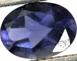 0.60CTS TANZANITE FACETED VIOLET BLUE  RNG-436
