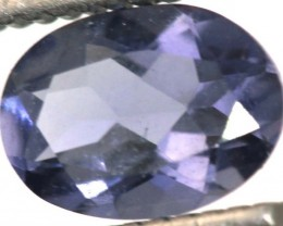 0.60CTS TANZANITE FACETED VIOLET BLUE  RNG-437