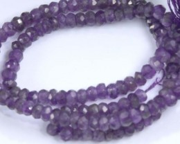 36 CTS AMETHYST BEADS FNP 14 NP-2111