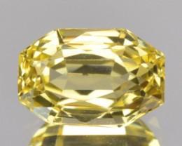 1.06 Cts Natural Corundum Yellow Sapphire Fancy Cut