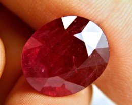 26.43 Carat Fiery Genuine Ruby - Superb