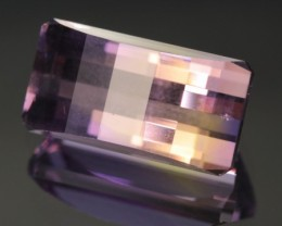 7.85 ct AMETRINE - CUSTOM MASTER CUT!  UNTREATED!