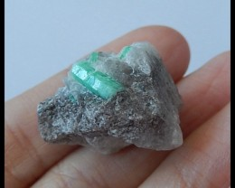 42.5Ct Natural Emerald Gemstone Specimen(B1804168)