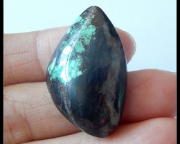 30.5Ct Natural Turquoise Gemstone Cabochon