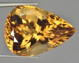 12.92 Cts Excellent Beautiful Top Natural Golden Beryl