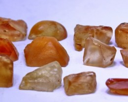 199 cts Top Quality & Superb Orange Brown Color Topaz Rough
