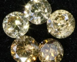 PARCEL 5  ARGYLE CONGAC  DIAMONDS VS  0.22 CARATS  OP 1183