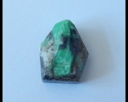 22.5Ct Natural Emerald Gemstone Cabochon