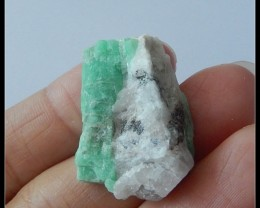 27.5Cts Natural Emerald Gemstone
