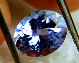 2.86 VVS African Tanzanite - Superb