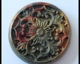 Hiddenite Carvings