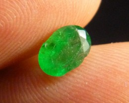 0.88cts Afghan Emerald , 100% Natural Gemstone