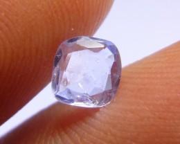 0.72ct Blue Ceylon Sapphire , 100% Natural Untreated Gemston
