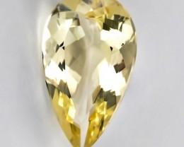 Glittering 4.83ct Yellow Beryl (Heliodor) Stunning luster - VVS