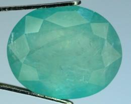 Certified~7.52 ct Grandidierite Extremely Rare Gemstone Madagascar