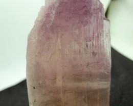 3235 crt Natural Kunzite Crystal Bi-Color Pink Afghan Specimen 70x50x145mm