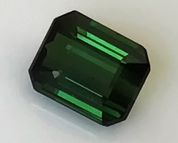 1.02ct Forest Green Tourmaline Terrific No Reserve Auction! Good Luck