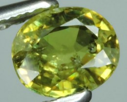 EXQUISITE NATURAL UNHEATED GREEN OVAL Demantoid NR!!!