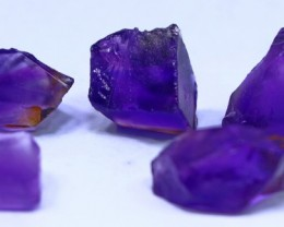 53 ct purple Amethyst Rough lot