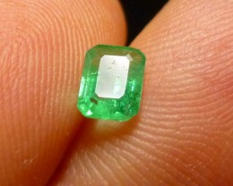 0.53cts Colombian  Emerald , 100% Natural Gemstone