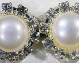 Natural Pearl Earrings [PPP1006]